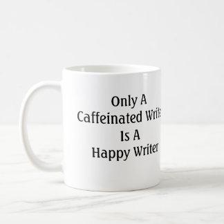 Seulement un auteur caféiné est un auteur heureux mug