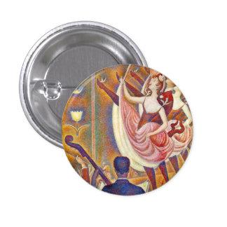 Seurat Le Chahut Button Badge