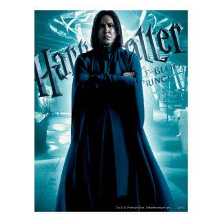 Severus Snape HPE6 1 Carte Postale