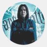 Severus Snape HPE6 1 Sticker Rond