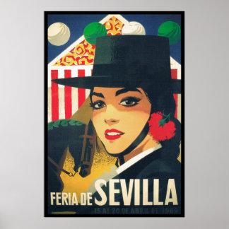 Séville, Espagne Posters