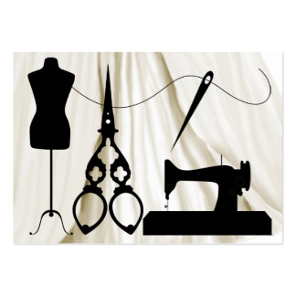 Sewing / Fashion / Seamstress - SRF Business Card Templates