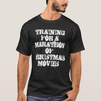 """""""S'exerçant T-shirt de Noël pour marathon"""""""