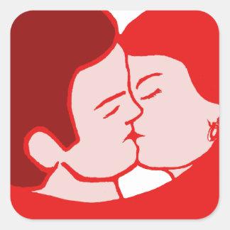 sexy love sticker carré