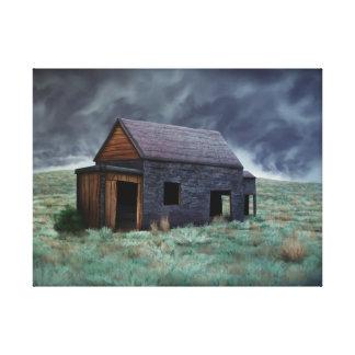 Shack - copie enveloppée de toile toiles tendues sur châssis
