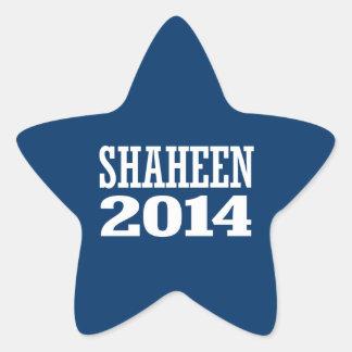 SHAHEEN 2014 STICKER EN ÉTOILE
