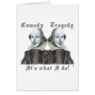 Shakespeare - est il ce que je fais ! cartes