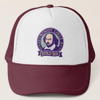 Shakespeare tout le monde aime un garçon de barde casquette