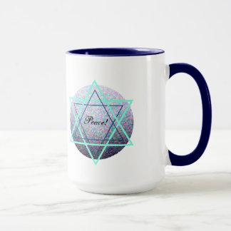 Shalom/tasse de paix mug