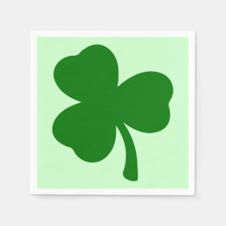 Shamrock 1 serviette jetable