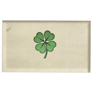 Shamrock chanceux irlandais chic porte-photos