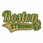 Shamrock fort de stade de base-ball de Boston brod Sweatshirt
