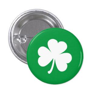 Shamrock irlandais personnalisable badge