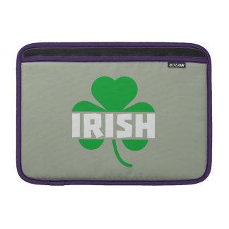 Shamrock irlandais Z2n9r de feuille de trèfle Poches Pour Macbook Air