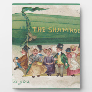 Shamrock original de cru du jour de Patrick de Impressions Sur Plaque