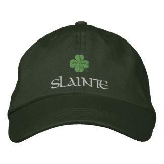 Shamrock santé St Patrick irlandais Casquette Brodée