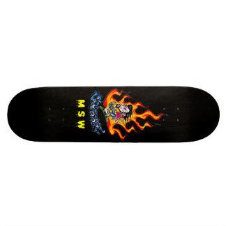 Shape Street Flame Plateau De Skateboard