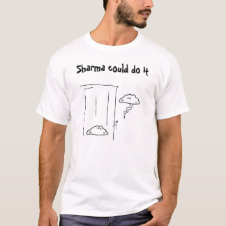 Sharma a pu le faire t-shirt