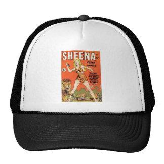Sheena : Bande dessinée de femme de jungle Casquettes