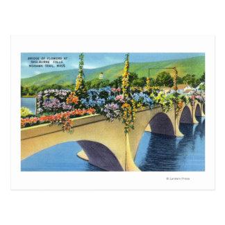 Shelburne tombe pont des fleurs cartes postales