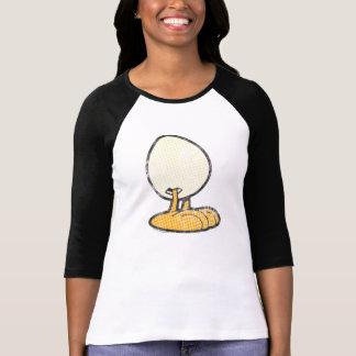 Sheldon la chemise des femmes d'oeufs t-shirt