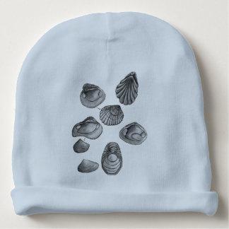 Shell esquissent bonnet de bébé