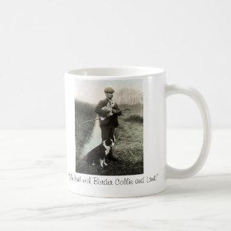 """""""Shepherd avec le ~Mug de border collie et d'agnea"""