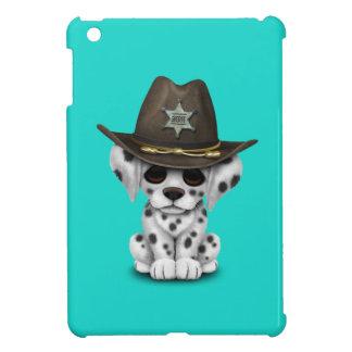 Shérif dalmatien mignon de chiot coque iPad mini
