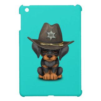 Shérif mignon de chiot de dobermann coque iPad mini
