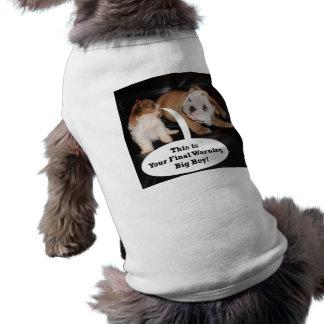 Shih Tzu et bouledogue anglais Puppys Manteaux Pour Chien