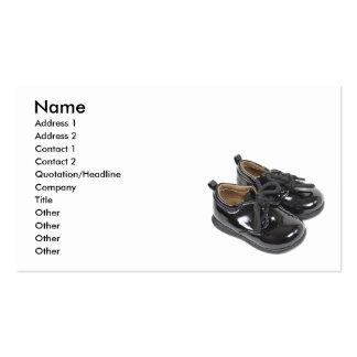 ShinyInfantShoes101610, nom, adresse 1, adresse… Carte De Visite Standard