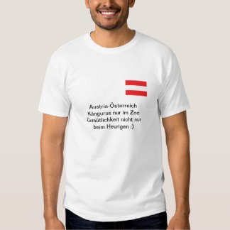Shirt «Austria» kangourous dans le zoo T-shirts