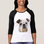 Shirts de bouledogue de Madame anglaise T-shirt