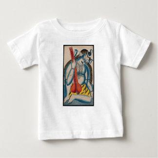 Shiva ivre tenant l'agneau t-shirt pour bébé