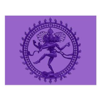 Shiva la carte postale cosmique de danseur