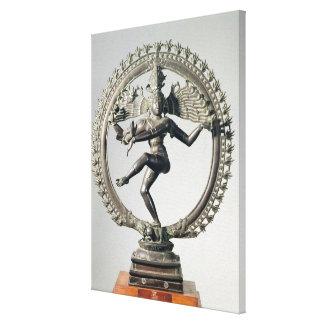 Shiva Nataraja, Tamil Nadu, défunt Chola (bronze) Toiles