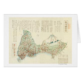 Shizuoka-ken, carte de JapanPanoramic