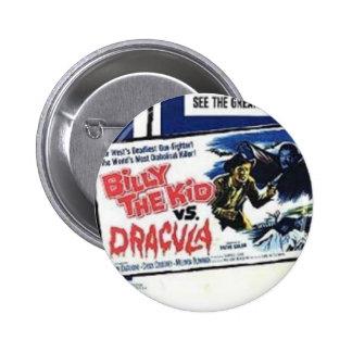 Shockorama Billy l'enfant contre le bouton de Drac Pin's Avec Agrafe
