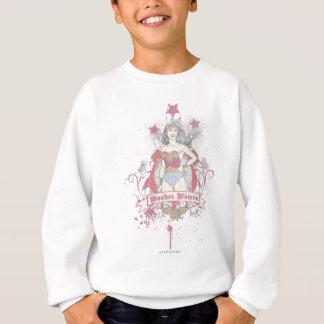 Shooting Stars de femme de merveille Sweatshirt