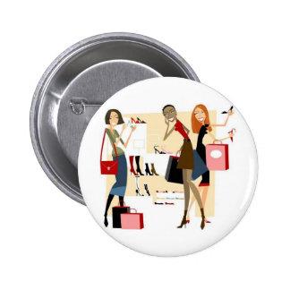 Shopaholic Badge Rond 5 Cm