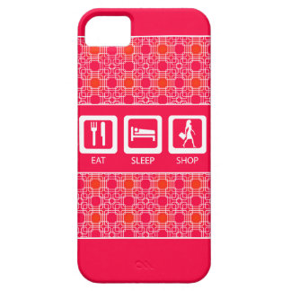 Shopaholic drôle rose mangent la récompense de coque iPhone 5 Case-Mate