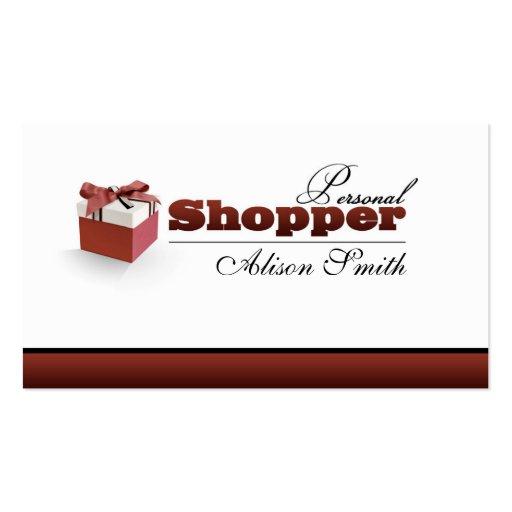 Shopper personnel carte de visite