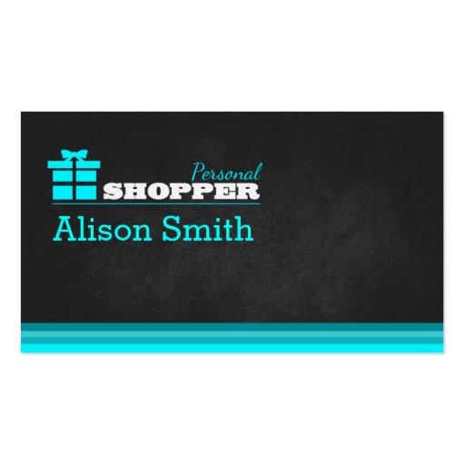 Shopper personnel cartes de visite personnelles