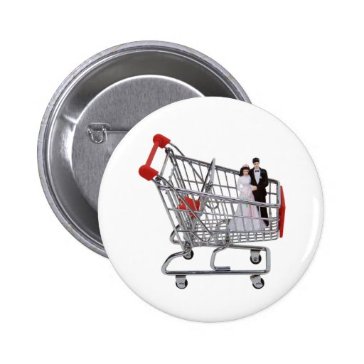 ShoppingNewlyWeds040909 Pin's Avec Agrafe