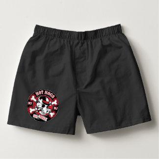 Shorts noirs classiques chauds de boxeur de Hogs™