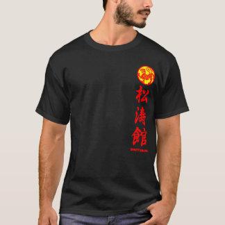 Shotokan Karaté du T-shirt black sera Survêtement