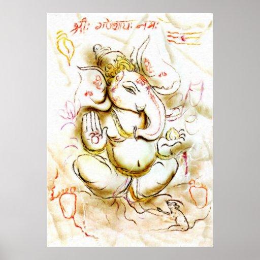 Shree Ganesh Affiches
