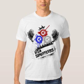 Shufflers des Etats-Unis T-shirts
