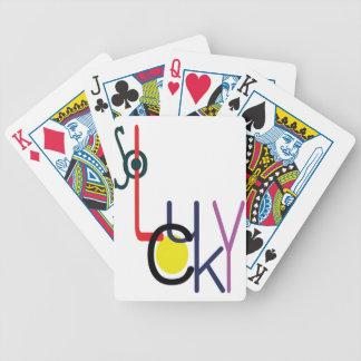 si chanceux jeu de cartes