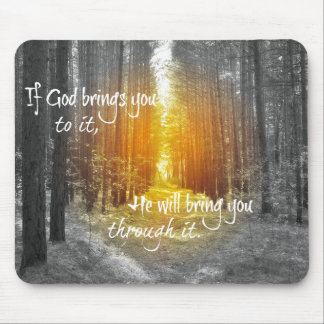 Si Dieu apporte vous à lui chrétien citez Tapis De Souris